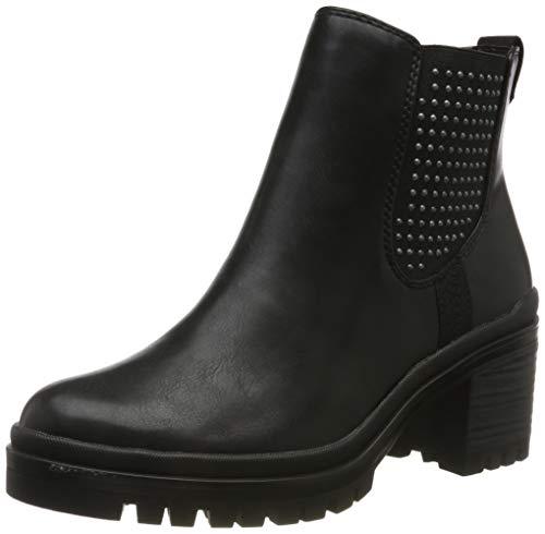 Tamaris Damen 1-1-25428-23 Chelsea Boots, Schwarz (Black 1), 38 EU