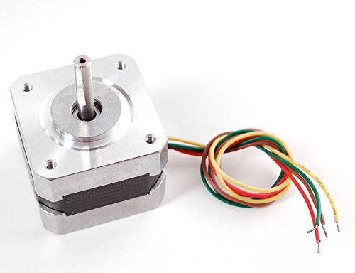Adafruit - Motor paso a paso para Arduino (200 pasos/giro, 12V, 350mA, 1,8 grados por paso, 42x42 mm)
