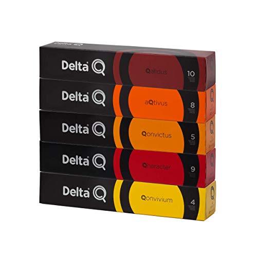 50 Cápsulas Delta Q – Degustação Café - Cafeteira Delta Q