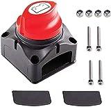 Interruptor de Batería Desconexión de Aislador de Batería Impermeable 12V-48V 300A, Int...