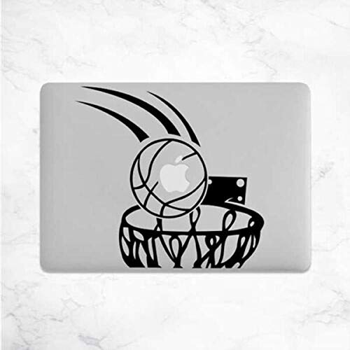 myrockshirt Basketball MacBook Aufkleber Laptop Notebook Funny Lustig Aufkleber,Sticker,Decal,Autoaufkleber,UV&Waschanlagenfest,Profi-Qualität,Wandtattoo