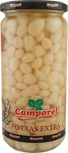 Camporel Potxas al Natural weiße Bohnen (3 x 520 g)