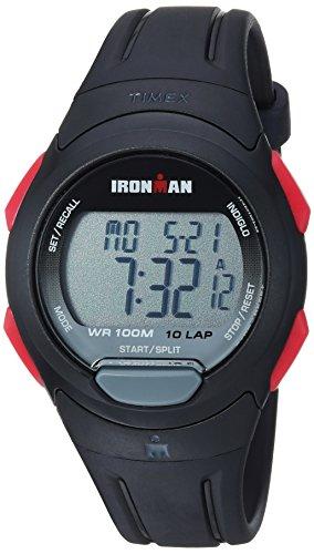Timex Men's Ironman Essential TW5M16400 Black Resin Quartz Sport Watch