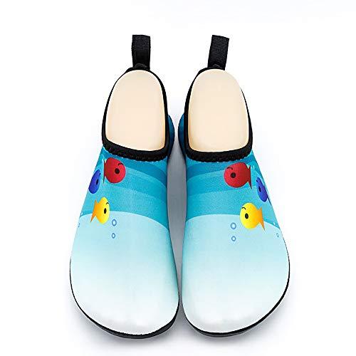 Calcetines De Buceo para Mujer Y para Hombre, Aleta Calcetines De Secado Rápido del Aqua Calcetines para El Buceo, Snorkeling, Natación, Deportes Acuáticos Y Muchos Más,XL