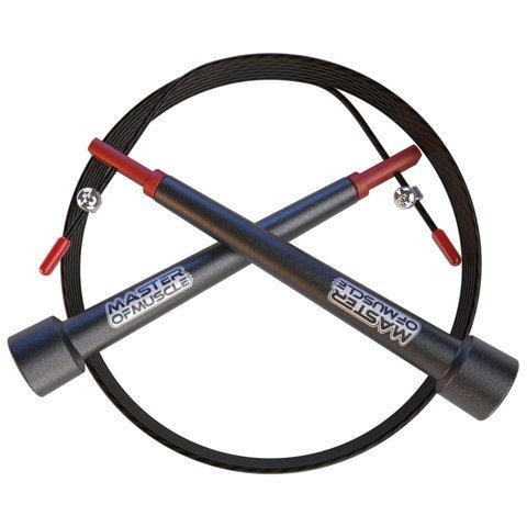 Jump Rope with Bonus Fitness Training E-book, Speed Rope Carry Case