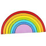 Juegos de Aprendizaje de Niños Puzzle Rompecabezas Forma de Arco Iris...