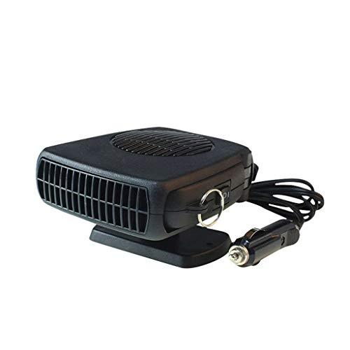 Aoyo Calefactores Calentador del Coche Manija eléctrica del Ventilador del vehículo de Viaje de 12 voltios Parabrisas Desempañador de Cristal de la Ventana Desempañador Enchufe Encendedor