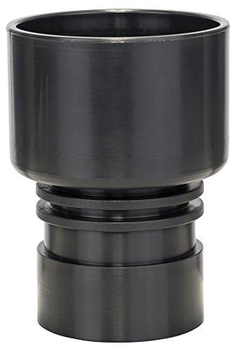 Bosch Professional 2607000748 Adapter für Bosch Professional Extraktoren (Durchmesser: 50-60mm, Schwarz)