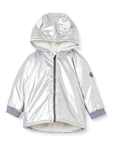 Petit Bateau 5618001 - Cera caliente para bebé niña plata 12 meses