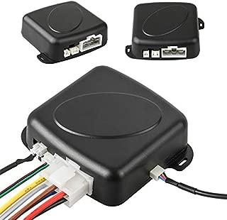 AMZENKA - Car Anti-theft System Engine Push Start Button Stop RFID Lock Ignition Switch Keyless Entry Immobilizer Burglar Alarm
