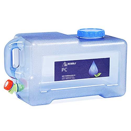 ZCG MORN - Portador de agua para camping, recipiente de agua con grifo, con cubo portátil para grifo (color: C, tamaño: 18 L)