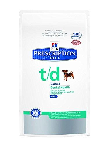 prescription diet t/d dental health canine mini mangime secco per la salute del cavo orale kg. 3