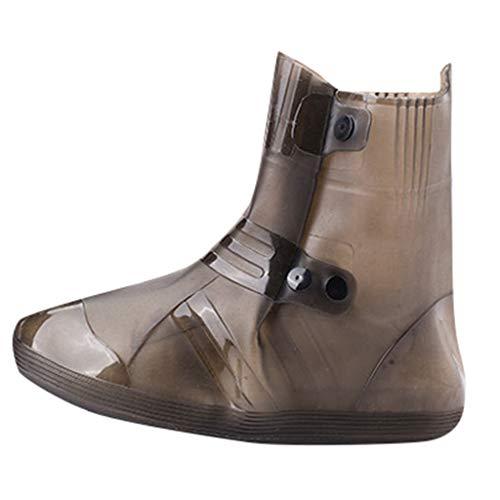 Bottes & Bottines de Pluie Adulte Couvre-Chaussures De Bottes De Pluie Unisexes Recouvrant Les Couvre-Chaussures ImperméAbles RéUtilisables Anti-Sale Antidérapant en Plein air Protective Footwear