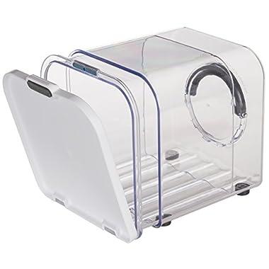 Prepworks by Progressive Bread ProKeeper, PKS-800 Adjustable Air Vented Bread Storage Container, Expandable Bread Holder