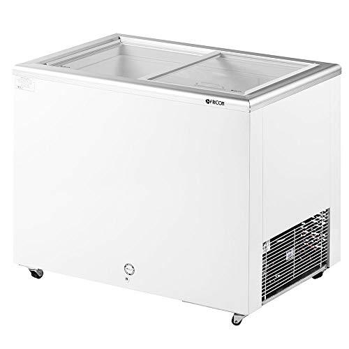 Freezer Horizontal 216 L Congelador com Tampa de Vidro Fricon 220 V