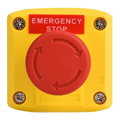 Interruptor de emergencia de señal roja para trabajar bajo -40 ℃ ~ 120 ℃ Medio ambiente para mar