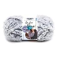 Lion Brand Yarn Go for Faux yarn, CHINCHILLA