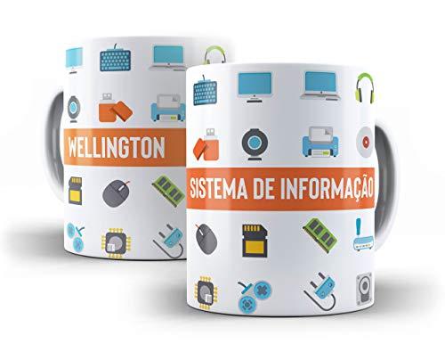 Caneca Porcelana Sistema De Informação - 006966 Mimaniacos