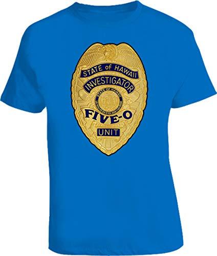 Npo Hawaii Five O Badge T Shirt