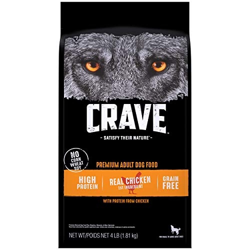 CRAVE Grain Free Adult High Protein Natural Dry Dog Food with Protein from...