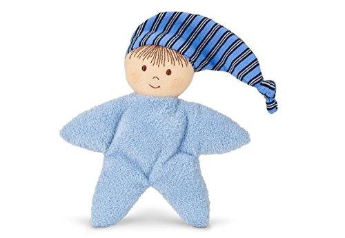 Sterntaler Spielpuppe, Integrierte Rassel, Alter: Für Babys ab der Geburt, 16 cm, Blau