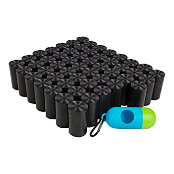 ShoppingLion 1040 Dog Poop Bags with Dispenser and Leash Clip Guaranteed Leak-Proof Extra Thick and Strong Poop Bags for Dogs Pet Waste Bags Made with EPI Technology