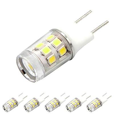 G8 T4 Bi-Pin LED Bulb JCD 120V Xenon Halogen Replacement.G8 LED COB Light Bulbs Pin Base Lighting for Puck Light Bipin Under-Counter Lights Microwave
