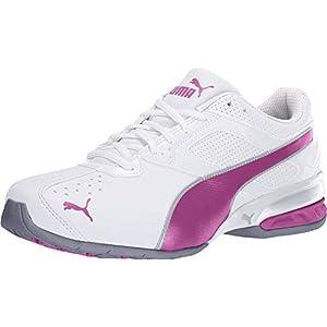 PUMA Women's Tazon 6 WN's fm Cross-Trainer Shoe, White/Fuchsia Purple Silver, 8 M US