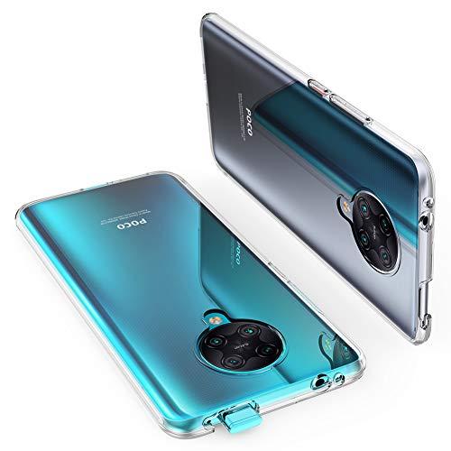 "ORNARTO Durchsichtig Kompatibel mit Xiaomi Poco F2 Pro Hülle, Transparent TPU Flexible Silikon Handyhülle Schutzhülle Hülle für Xiaomi Poco F2 Pro(2020) 6,67""-Klar"