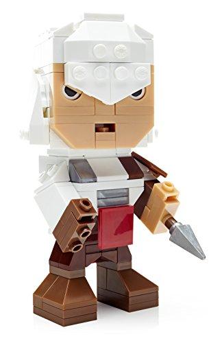 Mega Bloks Mattel DPH92 Kubros Assassin's Creed Ezio, Konstruktionsspielzeug