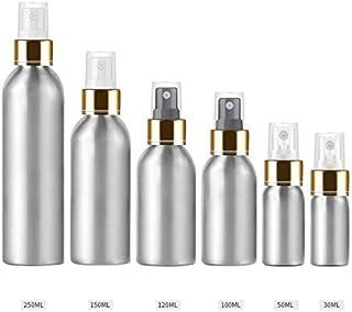 Beho 1本30Ml - 250Mlアルミボトルアルミブライトゴールドアルマイトアルミスプレーボトル日焼け止めスプレーボトルトナーボトルトラベル - 透明 - 150Ml