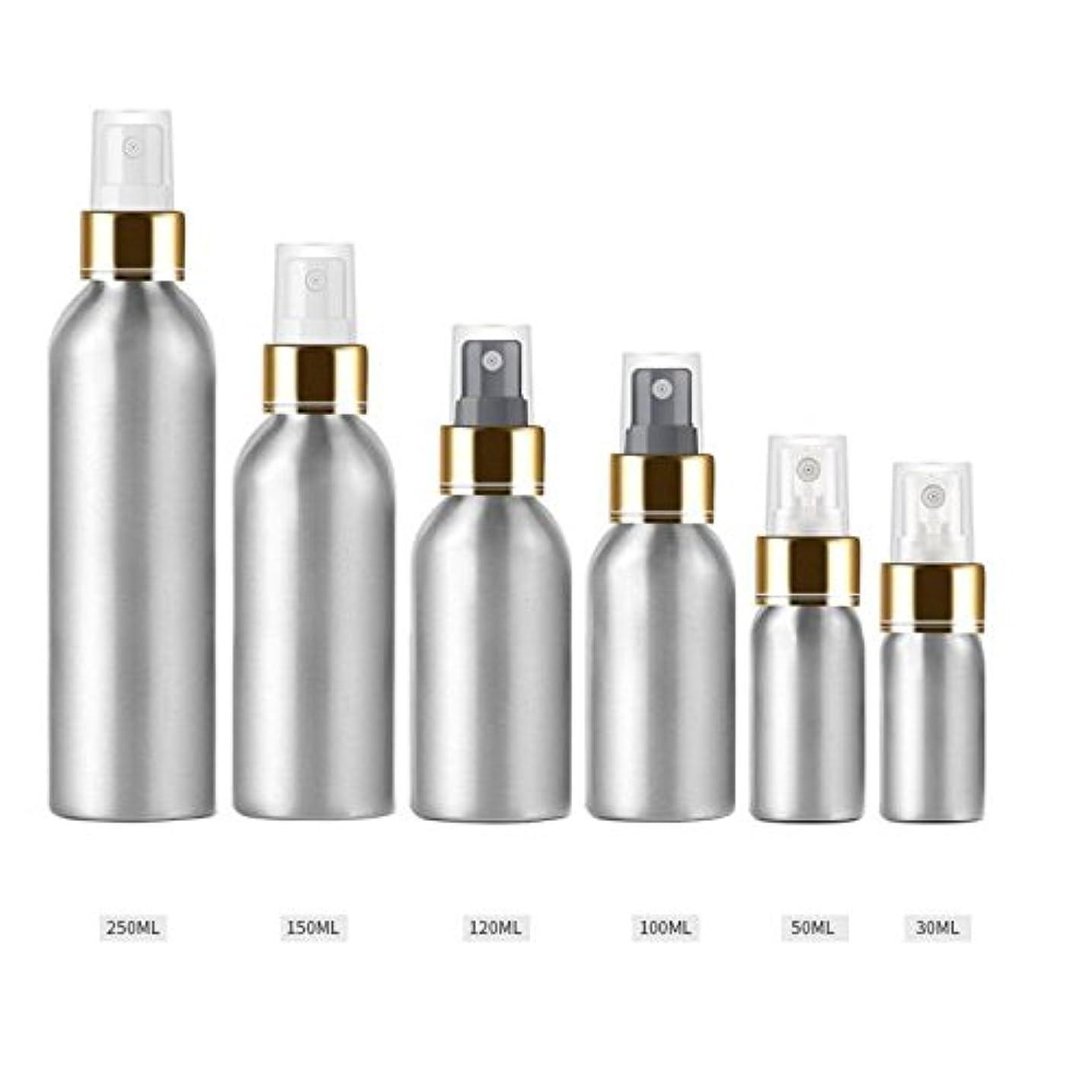 理解ショット丁寧Beho 1本30Ml - 250Mlアルミボトルアルミブライトゴールドアルマイトアルミスプレーボトル日焼け止めスプレーボトルトナーボトルトラベル - 透明 - 150Ml