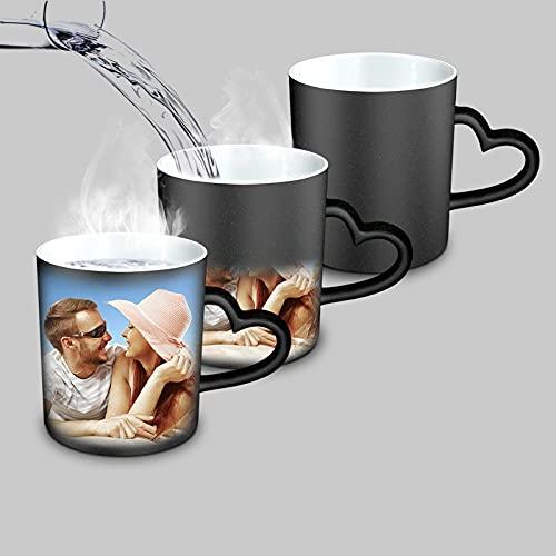 Personalizada Mágica Taza con tu Foto - Cambio de Color Taza para Espresso Mug Cup