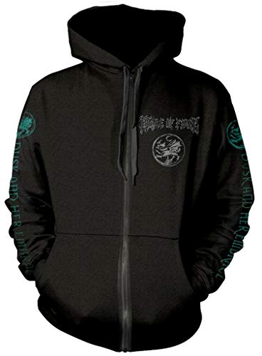 Cradle of Filth 'Dusk and Her Embrace' Zip Up Hoodie (Large)