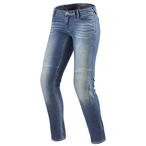 Revit Westwood Ladies Motorcycle Jeans LightBlue L32, W32