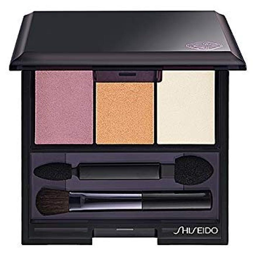 人口繊維以下資生堂 ルミナイジング サテン アイカラー トリオ RD299(Shiseido Luminizing Satin Eye Color Trio RD299) [並行輸入品]