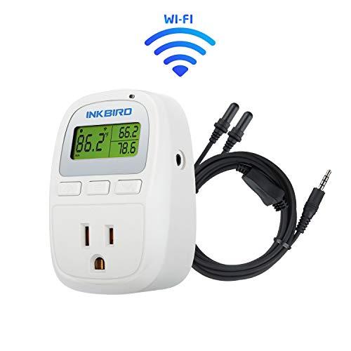 Inkbird C929A Smart Digital WiFi Temperature Controller for Aquarium Fish Tank Wireless Thermostat for Reptiles Terrarium