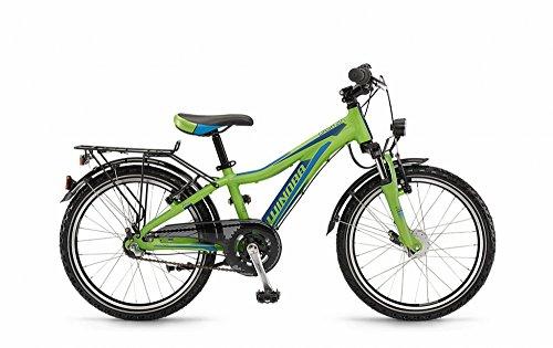 Winora Dash 20 grün/blau/cyan matt 2016 Kinderfahrrad