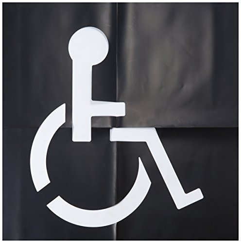 HY-KO Products PLS-60 Handicap Parking Lot Stencil, 48' x 48'
