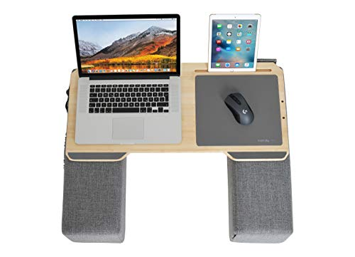 Couchmaster CYWORX - Ergonomic Lap Desk for Notebooks or Wireless Equipment, Including Pillows, Mousepad