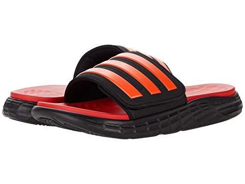 adidas Duramo SL Slides Black/Solar Red/Vivid Red 10 D (M)