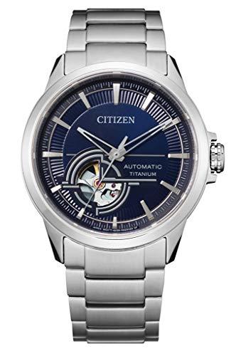 Citizen Reloj automático de titanio para hombre NH9120-88L