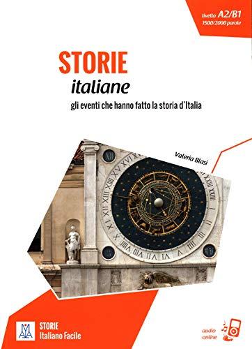 Storie italiane: Storie italiane. Libro + online MP3 audio