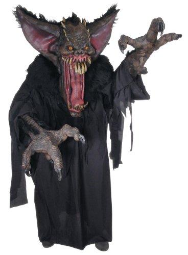 Rubie's mens Creature Reacher Deluxe Oversized Mask and Costume,Bat,Standard