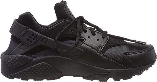 Nike Damen Air Huarache Run Laufschuhe , Schwarz (Black/Black) , 37.5 EU