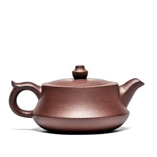 BINGFANG-W Coffee 195ml Original Mine Handmade Zisha Chinese Kung Fu Tea Pot Gift Set Custom Purple Clay Pot Tea Sets