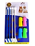 PenVinoo Dog Toothbrush Pet Toothbrush Finger Toothbrush Small to Large...
