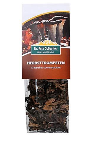 Dr. Ana Collection - getrocknete Herbsttrompete ganze Pilze (20g) - erhältlich in den Varianten 20g - 50g