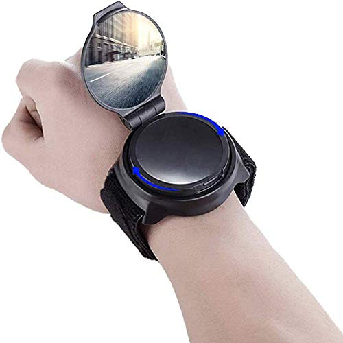 Bicycle Rearview Mirror, Wide Field Rearview Mirror, Can Adjust The Direction 360°, Ergonomic Design Fits The Wrist