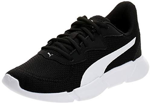 Puma Interflex Runner, Unisex-Erwachsene Laufschuhe, Schwarz (Puma Black-Puma White 01), 43 EU